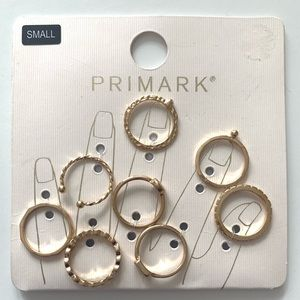 Primark Gold Rings Size Small